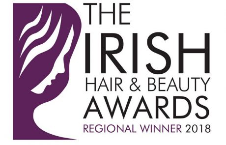 irish hair and beauty awards winner 2018 badge